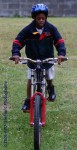 Learning to mountain bike