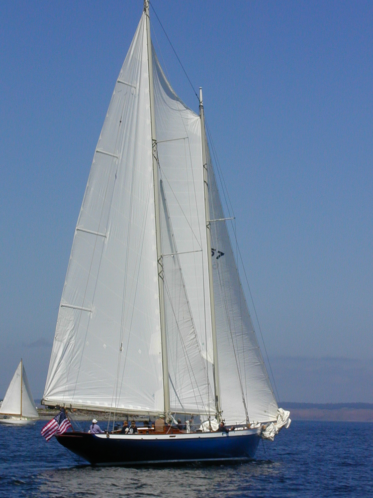 Sailing off Port Townsend